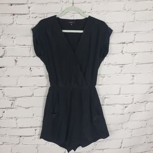 Babaton Black Silk Jumpsuit